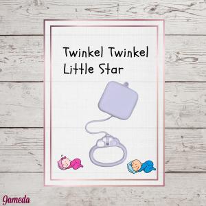 muziekdoosje twinkel twinkel little star